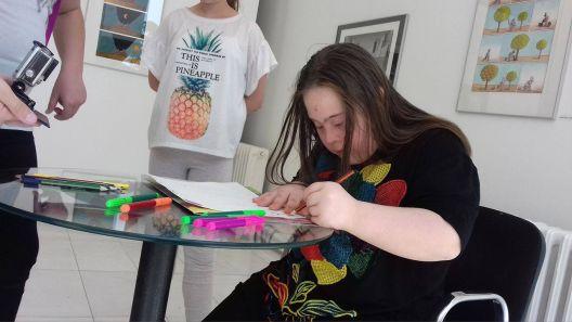 Креативноста на децата со попреченост треба да се открива