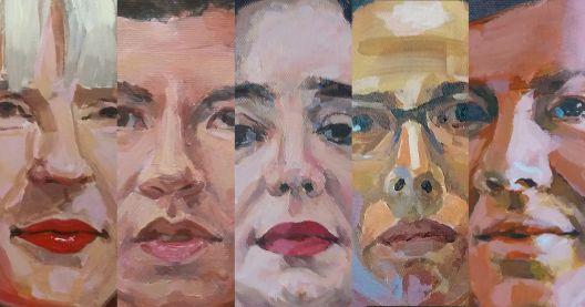"""""""Хероините на нашето време"""" - изложба на Јана Јакимовска"""