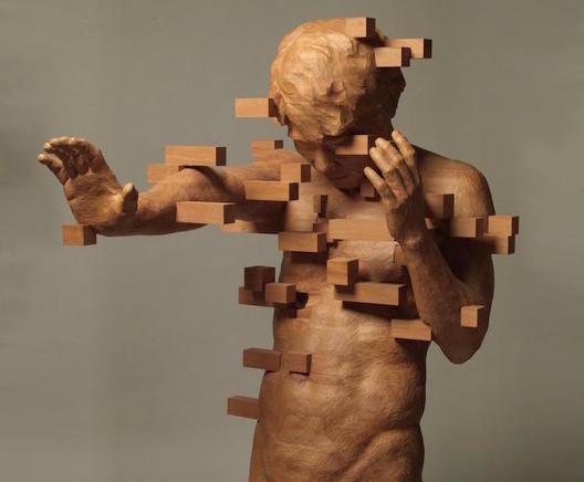 Динамичните пикселизирани скулптури на Хсу Тунг Хан