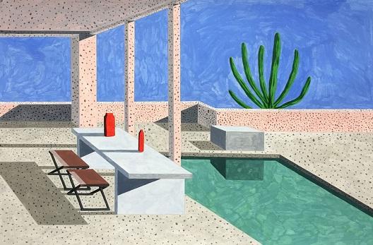 Модернистичките домови како сликарска инспирација