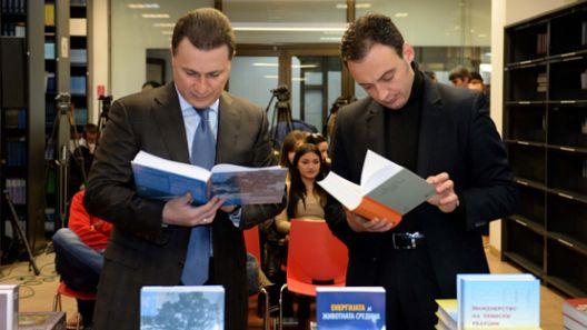 Половина милион книги од проектите на Груевски и Канчевска завршиле во подруми
