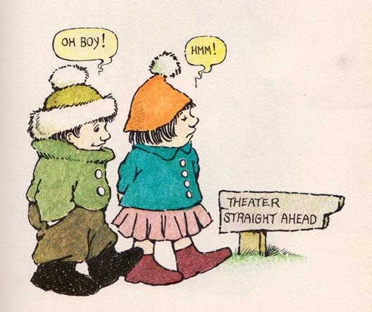 Илустрации на Морис Сендак за приказна од браќата Грим