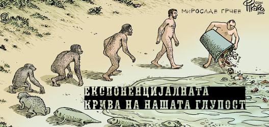 Експоненцијалната крива на нашата глупост