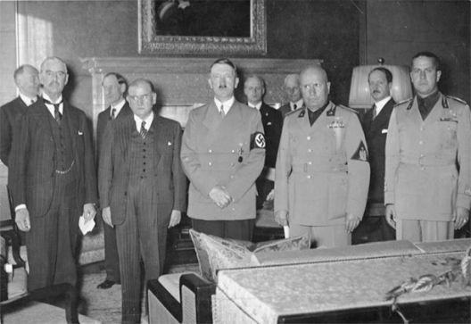 Минхенскиот договор, антисоветски избор