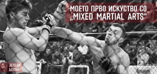 """Моето прво искуство со """"Mixed Martial Arts"""""""
