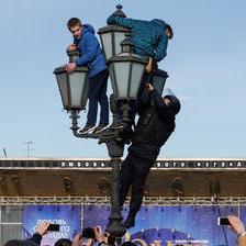 Лов на демонстранти во Москва