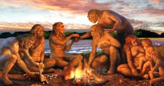 Како огaнот го создал човекот