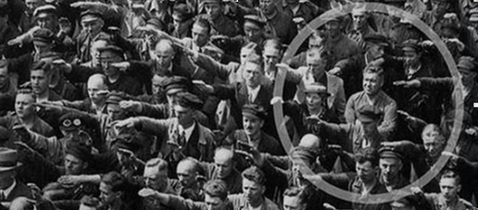 Човекот кој го одби нацистичкиот поздрав