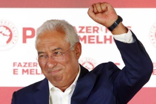 Португалија ја избра левицата