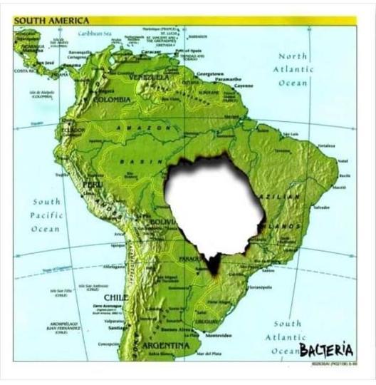 Јужна Америка денес
