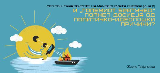 """Фељтон: Парадоксите на македонската лустрација (1) И """"Големиот братучед"""" полнел досиеја од политичкo-идеолошки причини?"""