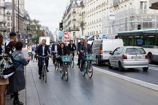 Велосипедски бум во Париз