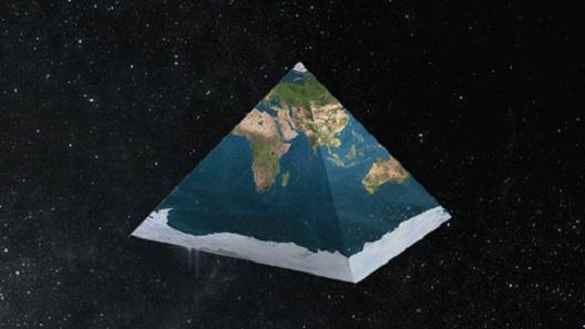 НАСА конечно призна: светот има пирамидален облик