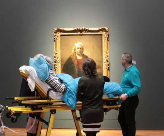 Последна желба - да се види изложбата на Рембрант