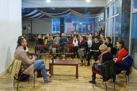 Ивана Васева и Билјана Тануровска Ќулавковски на Re//Dance во Букурешт