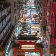 Пазар на улица во Хонг Конг