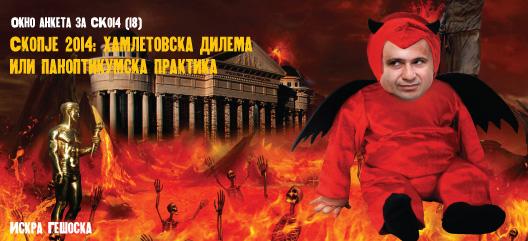 Скопје 2014: хамлетовска дилема или паноптикумска практика