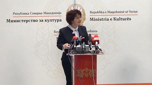 Трајно решавање на заштита на културното наследство и осовременување на условите за работа во културата, најави министерката Ирена Стефоска