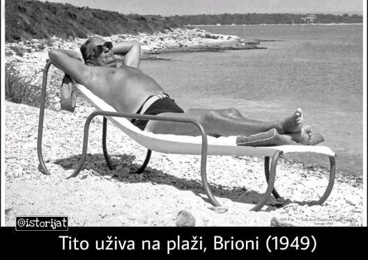 Другарот Тито и гаќите за капење