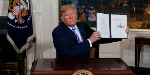 Трамп и Иранскиот договор