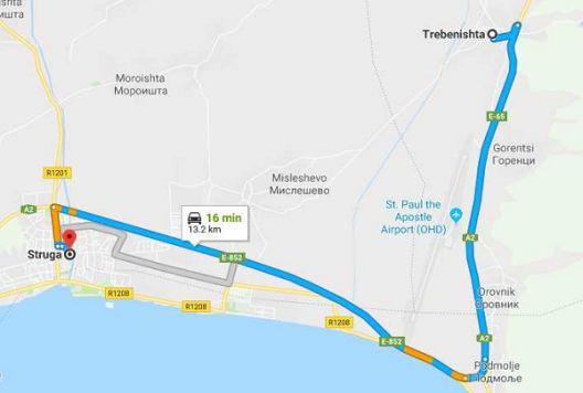 Засега нема да се гради автопат Струга -Tребеништа